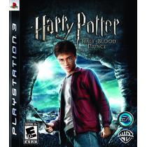 Jogo Novo Harry Potter E O Enigma Do Príncipe Para Ps3