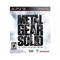 Metal Gear Solid The Legacy Collection - Ps3 - Lacrado