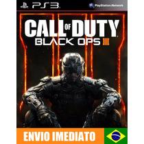 Call Of Duty Black Ops Iii 3 Ps3 Código Psn Promoção