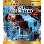 Jogo Uncharted 2 Among Thieves Ps3 Original Lacrado Em Pt-br