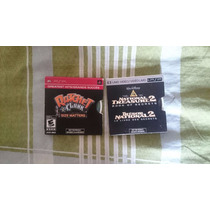 Psp Umd Ratchet And Clank Sizze Matters + National Treasure
