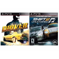 Driver + Shift 2 Unleashed Lacrados Para Ps3 Rcr Games