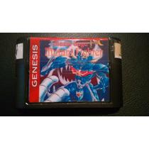 Mazin Saga: Mutant Fighter P/ Sega Mega Drive Genesis Raro!