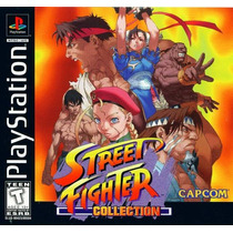 Street Fighter Collections - Psx Playstation 1 Frete Gratis