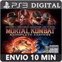 Mortal Kombat Komplete Edition Ps3 Psn Digital
