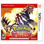 Jogo Pokémon Omega Ruby Nintendo 3ds Original Lacrado