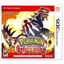 Jogo Pokémon Omega Ruby + Mario 3d Land Nintendo Ds