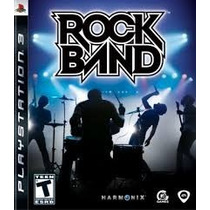 Ps3 Rock Band (original Americano)