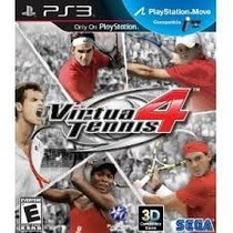 Virtua Tennis 4 Ps3 Original Mídia Física Lacrado