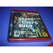 Playstation 3 : Gta 4 Iv , Midia Fisica Lacrado