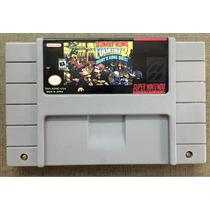 Fita Original De Super Nintendo Donkey Kong 2 Diddy Kong