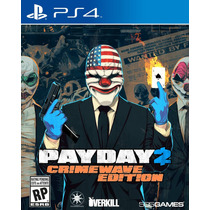 Jogo Payday 2 Crimewave Edition Ps4 Mídia Física Lacrado Pd2