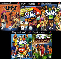 The Sims Collection Ps2 Frete Gratis !!!!