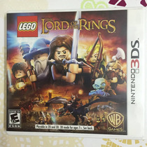 Jogo Nintendo 3ds Lego The Lord Of The Rings Original Japan