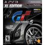 Gran Turismo 5 Xl Edition 3d Gt 5 Ps3 Inclui Bonus De $20
