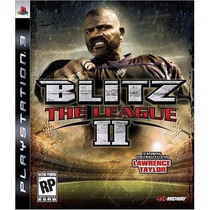 Jogo Novo Blitz The League 2 Para Playstation 3 Ps3