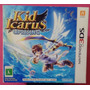 Kid Icarus Uprising Completo Original Com Stand 3ds