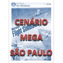 Fsx - Cenário Mega São Paulo - Flight Simulator X