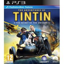 Jogo The Adventures Of Tintin Ps3 Mídia Física