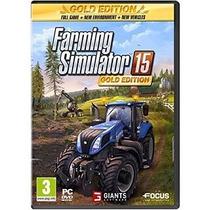 Farming Simulator 15, Português Br, Gold Edtion