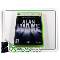 X360 Alan Wake Original Xbox 360 Lacrado