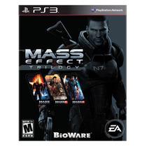 Jogo Mass Effect Trilogy Para Ps3 /semi Novo/ Barato!!!!
