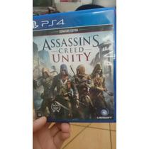Assassins Creed Unity - (troca De Jogos Ps4)