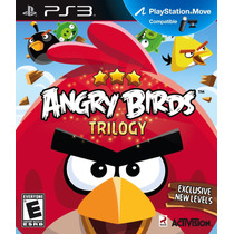 Angry Birds Trilogy Playstation 3 Jogo Infantil Midia Fisica