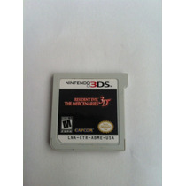 Resident Evil The Mercenaries 3d!!!original!!