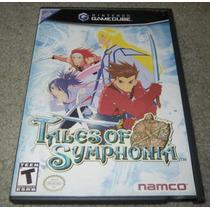 Game Cube: Tales Of Symphonia Rpg Americano!! Muito Barato!!