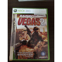 Rainbow Six Vegas 2 Xbox 360 Original Na Caixa Com Manual!