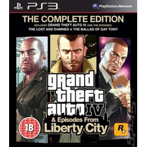 Gta 4 Grand Theft Auto Iv Complete Edition Ps3 Física Lacrad