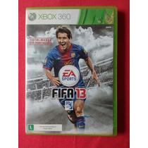Jogo Fifa 13 Jogo Totalmente Em Português Ntsc Xbox 360
