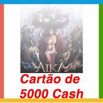 Aika - Cartão De 5.000 Cash - Envio Imediato E- Mail