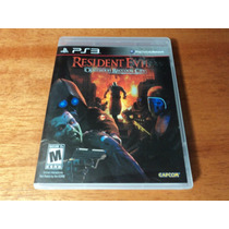 Ps3 - Resident Evil Operation Raccoon City - Disco Original
