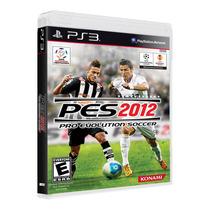 Pes 2012 Semi Novo Completo 100% Funcional P Playstation 3