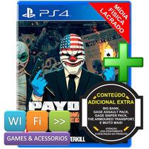 Pay Day 2 Ps4 Crimewave Edition Original Lacrado