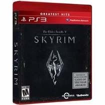The Elder Scrolls V: Skyrim - Ps3 - Original Lacrado.