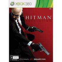 Jogo Hitman Absolution Original Xbox 360(usado)