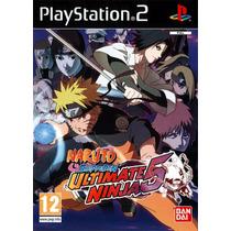 Patch Naruto Shippuden Ultimate Ninja 5 Ps2 Frete Gratis
