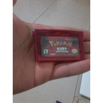 Pokemon Ruby + Case