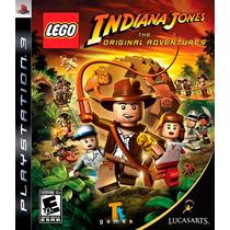 Lego Indiana Jones The Original Adventures Ps3 Física Lacrad