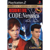 Resident Evil X Code Veronica Ps2 Original Usado