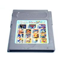 19 Em 1 Mario Land Turtles Ninja Megaman Game Boy Color