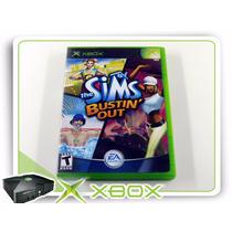Xbox The Sims Bustin Out Original Xbox Clássico Ntsc