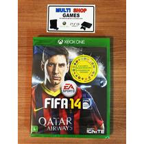 Fifa 14 Xbox One Novo Lacrado Português Frete Barato
