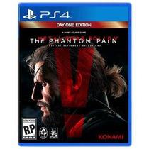 Metal Gear Solid V The Phantom Pain Ps4 Secundária Mg!!!