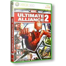 Marvel Ultimate Alliance 2 - Xbox 360 Novo & Lacrado!