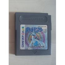 Pokemon Silver Game Boy Color Cart Nintendo Original Fita Gb
