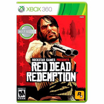 Red Dead Redemption Xbox 360 Mídia Física + Pôster Brinde